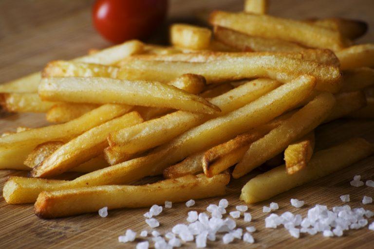 Limiet met friet